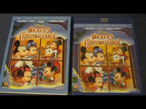 Mickey's Christmas Carol Blu-Ray 30th Anniversary Edition Unboxing Review