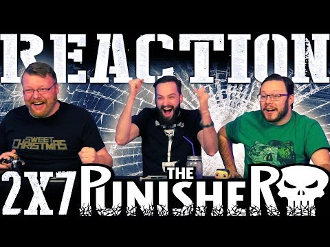 """The Punisher 2x7 REACTION!!! """"One Bad Day"""""""