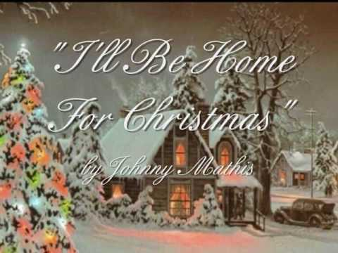 Tekst piosenki Johnny Mathis - I'll Be Home for Christmas po polsku