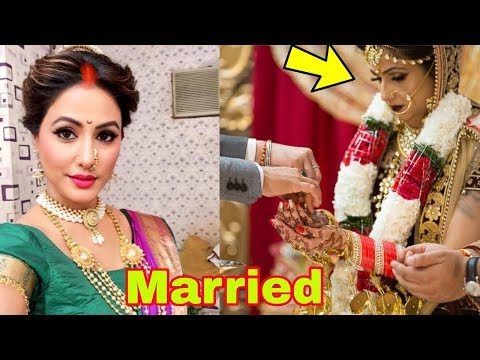 Tv actress Hina Khan got married to love of her life 😍|Latest News (видео)