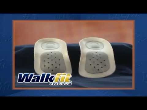 Walkfit Platinum Orthotics.Over 10 Million pairs sold worldwide by 2012. Walk away from pain..