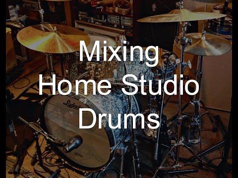 Mixing Home Studio Drums - Warren Huart: Produce Like A Pro