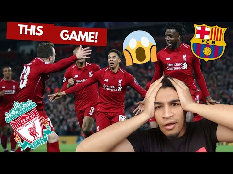 Liverpool vs Barcelona | Reaction