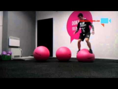 Swiss ball - jumping