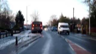 Mauchline United Kingdom  City new picture : Mauchline Towards Kilmarnock, Ayrshire, Scotland. Winter, Late Afternoon.(16dec2011)