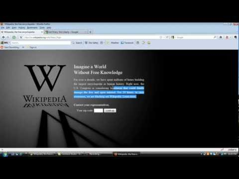 wikipedia blackout - Google and Wikipedia Black out: Google says: Millions of Americans oppose SOPA and PIPA because these bills would censor the Internet and slow economic growt...