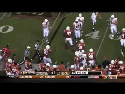 Brett Smith vs Texas 2012 video.