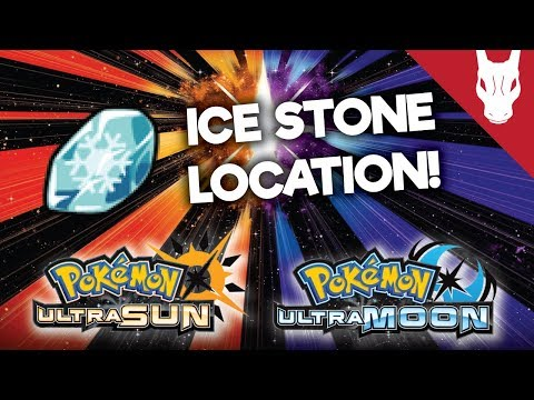 Where to Find the Ice Stone in Ultra Sun and Ultra Moon