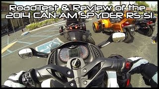 7. Road-Test & Review: 2014 Can-Am Spyder RS-S!