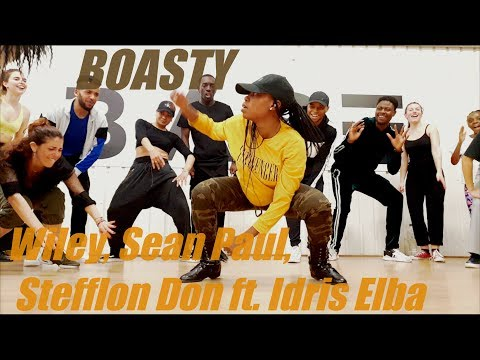 Wiley, Sean Paul, Stefflon Don - Boasty ft. Idris Elba - FUMY CHOREOGRAPHY