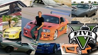 Nonton GTA 5 Fast And Furious Cars - GTA V F&F Cars Remake Film Subtitle Indonesia Streaming Movie Download