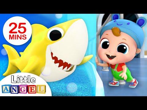 Hi Baby Shark, Let's Do the Baby Shark Dance! Nursery Rhymes by Little Angel