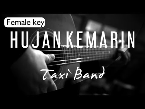 Hujan Kemarin - Taxi Band Female Key ( Acoustic Karaoke )