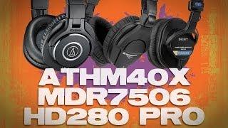 Video Audio-Technica ATH-M40x vs Sony MDR7506 vs Sennheiser HD280 Best $100 Headphone Review MP3, 3GP, MP4, WEBM, AVI, FLV Agustus 2018