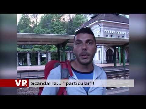 "Scandal la… ""particular""!"