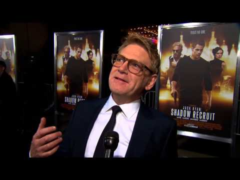 Jack Ryan: Shadow Recruit: Director Kenneth Branagh World Premiere Interview