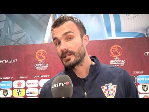 Izjava Darija Bašića nakon utakmice Hrvatske i Italije na U-17 Europskom prvenstvu