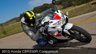 3. 2013 Honda CBR250R Comparison Review