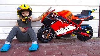Video Baby Biker Senya Unboxing And Assembling The Pocker Bike mini moto - mini Bike MP3, 3GP, MP4, WEBM, AVI, FLV Januari 2019