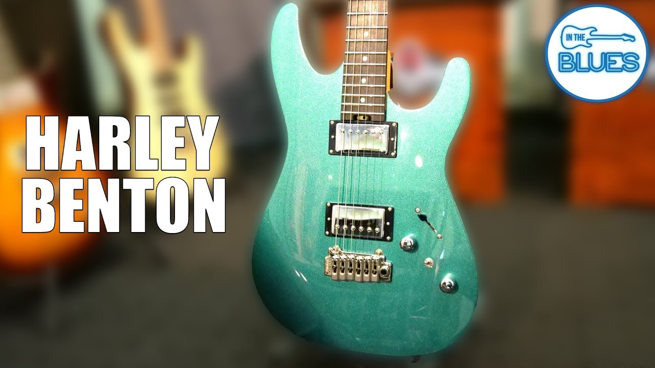 Harley Benton Fusion-HH EB Ocean Turquoise Pro Series Electric Guitar Review