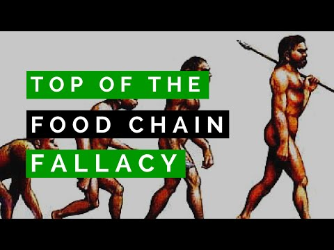 Top of the Food Chain Fallacy SPEAKING VEGAN #010