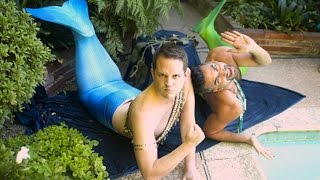 Video Men Become Mermaids For A Day MP3, 3GP, MP4, WEBM, AVI, FLV April 2018