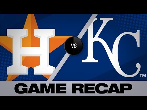 Video: Greinke, Alvarez carry Astros in 6-1 win | Astros-Royals Game Highlights 9/14/19