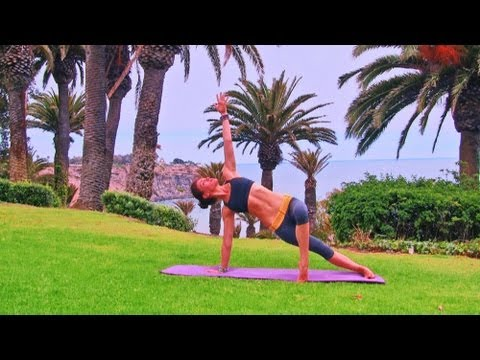 Beginner Yoga 20 min Vinyasa Hatha class Level 1 Abs Back Stretching