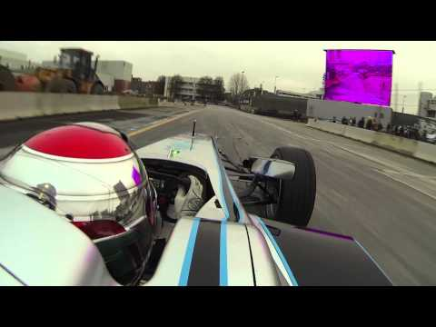 formula e: on board con trulli al motor show 2014