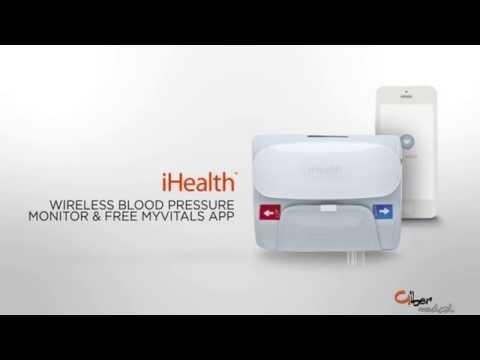 Sfigmomanometro digitale Misuratore della Pressione BP5 iHEALTH Misura pressione Monitor ABP Sfigmo