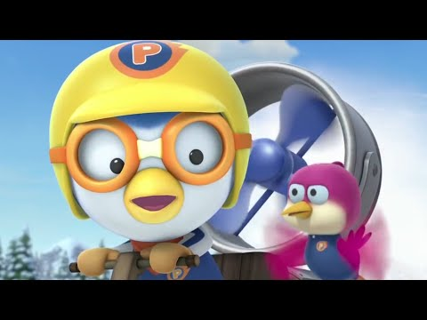 Pororo and his Friends Invent a Jet-Engine Sled