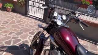 7. Moto Guzzi nevada 750 V2 suono d'epoca