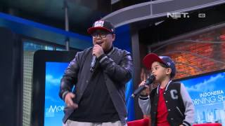 Entertainment News - Igor Saykoji kenalkan Rap pada anak