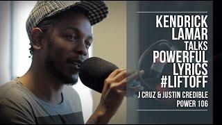 Kendrick Lamar Talks Powerful Lyrics