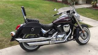 8. 2012 Suzuki Boulevard C50T Motorcycle Saddlebags Review - vikingbags.com