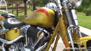 6. Used 2007 Harley Davidson FXSTSSE CVO Softail Springer Motorcycles for sale
