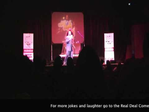 Tony Woods @ Real Deal Comedy Jam - Hosted by Kat