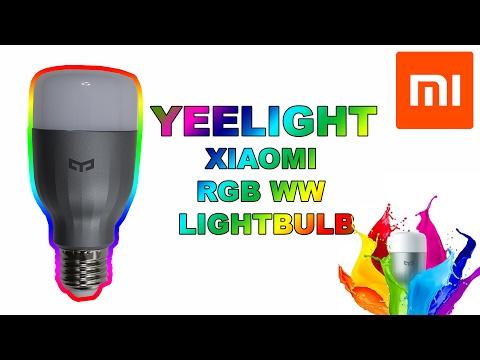 Xiaomi Mi Yeelight 9W RGB Smart bulb Review!