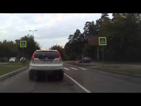 Авария с пешеходом в Иркутской области