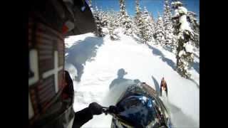 10. Boondocking deep snow in MT-no music