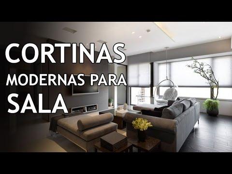cortinas modernas - Buscas Cortinas para Sala 2014? !Encuentralas Aquí¡: http://www.decorjade.com - En este vídeo les mostramos las cortinas para sala mas modernas y que lidera...