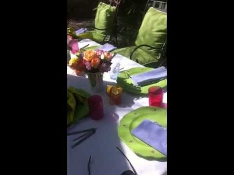 Suzanne Somers' Easter Sunday Brunch Table