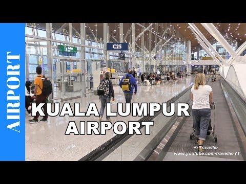 KUALA LUMPUR AIRPORT Departure - Check-in, Departure & KLIA Airport Tour - Malaysia