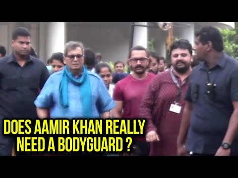 Photographers INSULT Aamir Khan And His Security A