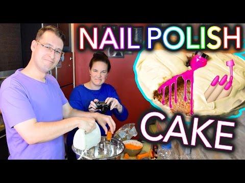 Baking a CAKE with NAIL POLISH