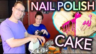 Video Baking a CAKE with NAIL POLISH MP3, 3GP, MP4, WEBM, AVI, FLV Desember 2017