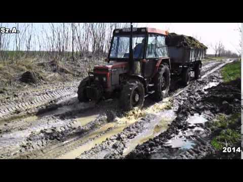 Mtz82 - Magágykészítés,Kukorica vetés, Műtrágyaszórás, Permetezés, Trágyahordás, Fahordás.