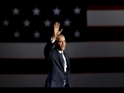 Watch President Barack Obama's full farewell speech (видео)