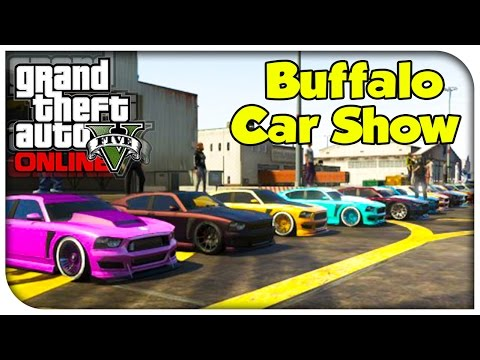 GTA 5 Online - CAR SHOWCASE #5 (Franklin's Buffalo) [GTA V]