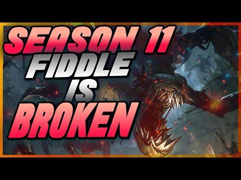 JUNGLE FIDDLESTICKS SEASON 11 IS BROKEN! THE BEST BUILD RUNES GUIDE - Jungle Fiddle Guide Season 11